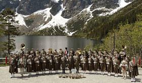Reprezentacyjna Orkiestra Straży Granicznej z Nowego Sącza